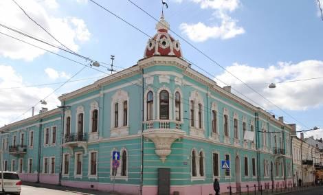 Корпус медакадемії по вул. Руська 36